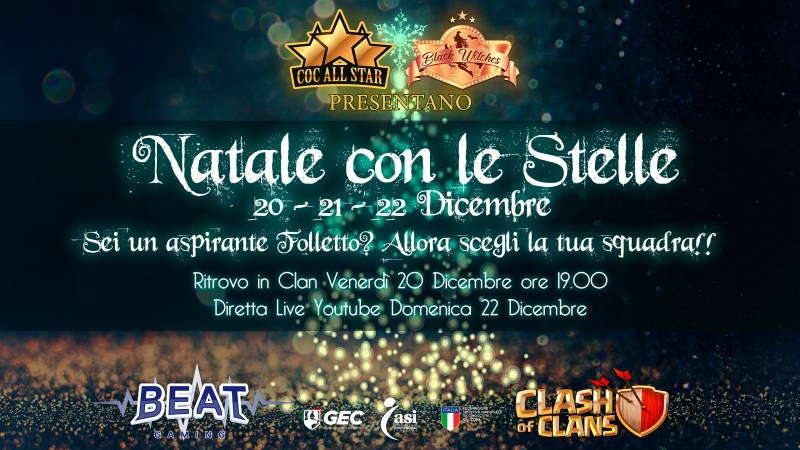 Natale con le Stelle – COC All Star & Black Witches