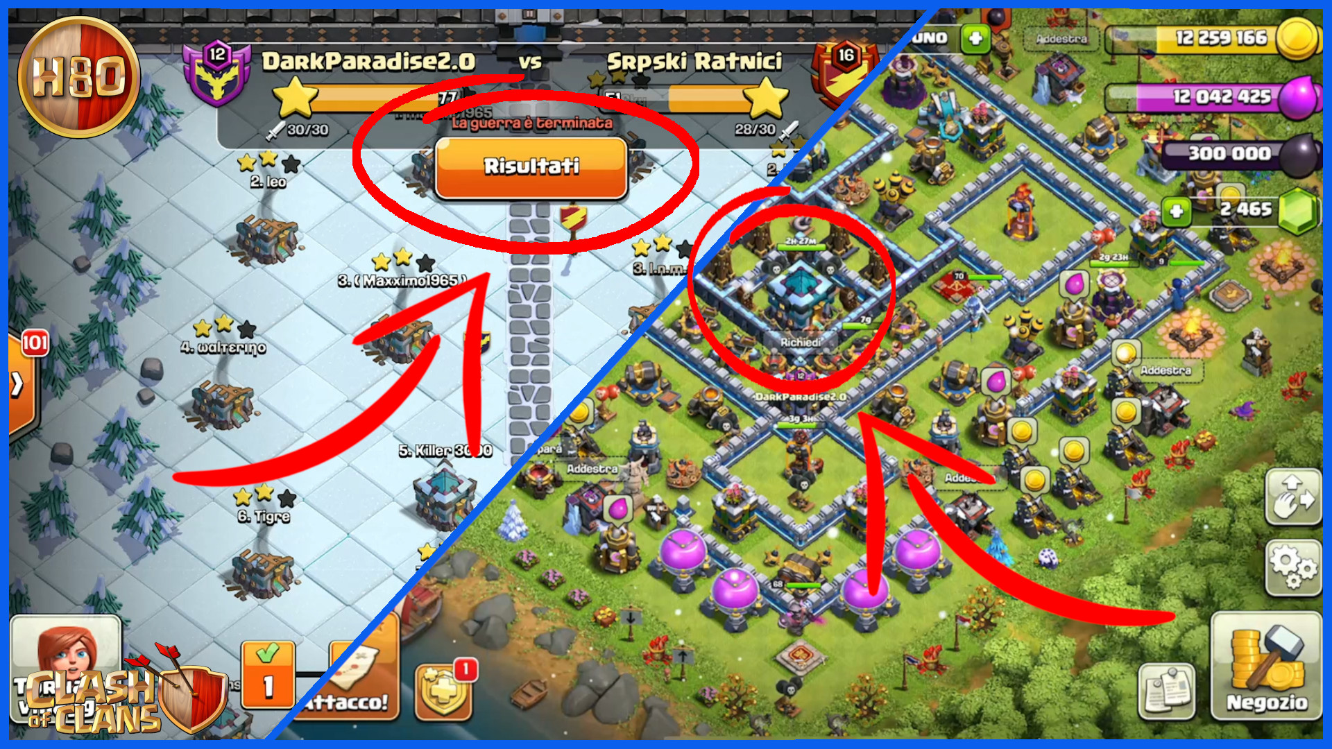 Clash of Clans ITA -E127- Progressi col TH13 e CWL
