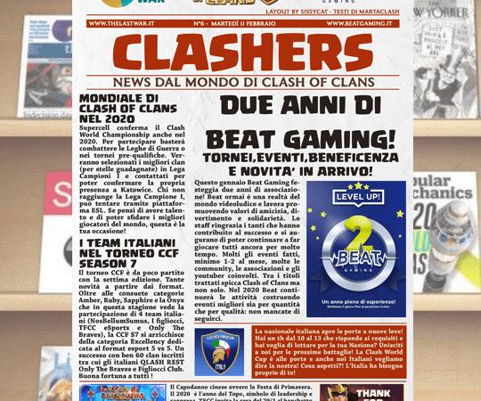 CLASHER – Volume 6