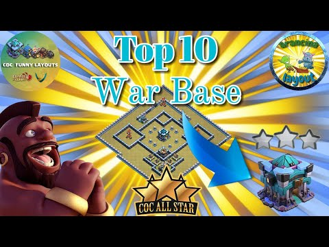 ALL STARS TOP 10 TH13 WAR BASES/CWL + LINKS 2020 April Best Town Hall 13 War Base Clash of Clans