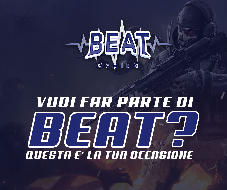 BEAT Gaming cerca staff
