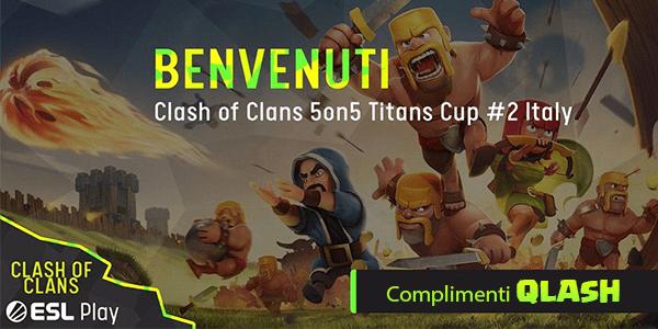 Il team QLASH si aggiundica le Titans Cup #2 5vs5 [Italy]