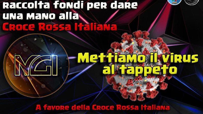 #IOCLASHOACASA : al via la raccolta fondi a sostegno della Croce Rossa Italiana