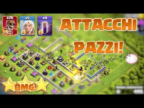 HA TRISTELLATO CON 26 SUPER SPACCAMURO clash of clans