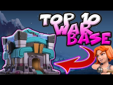 Top 10 Best Th13 WAR Base With LINKS | Th13 Anti 2 Stars Th13 WAR BASE | Best Th13 War Base 2020