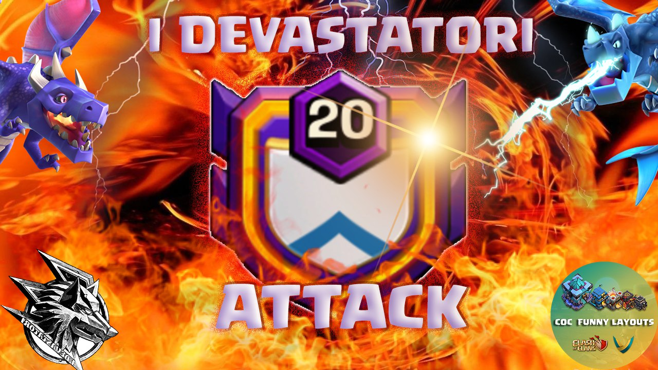 I DEVASTATORI WAR Best 3 Star War Attack Strategy 2020 TH13 | How to 3 Star in Clan War