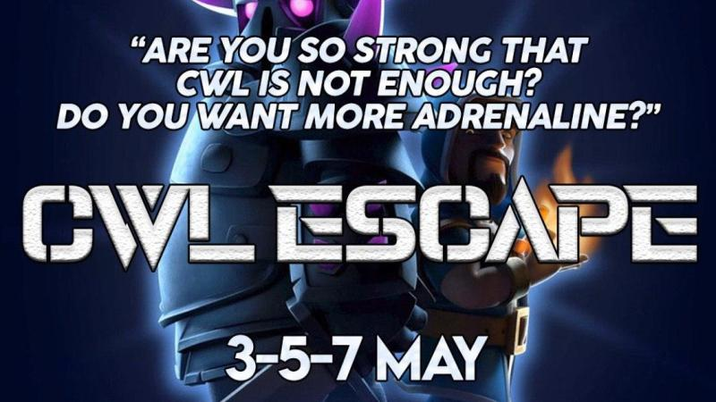 CWL ESCAPE con Top Italian Clans