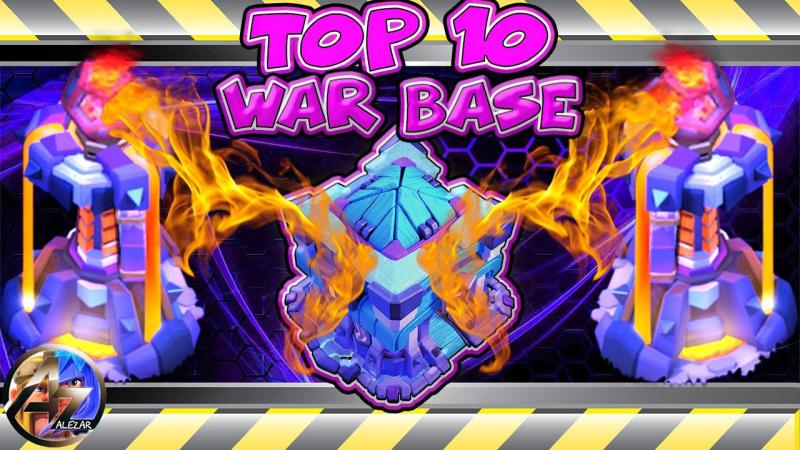 Top 10 Best Th13 WAR Base With LINKS | Clash Of Clans