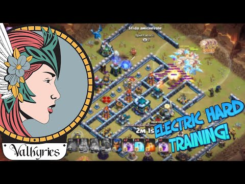 ELECTRIC TRAINING CON LE VALKYRIES! Clash of Clans