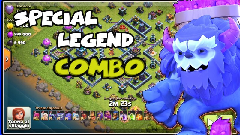 SPECIAL COMBO TH13 8k Trophy Pushing Attack Strategy Th13 New Attack Strategy – Clash of Clan