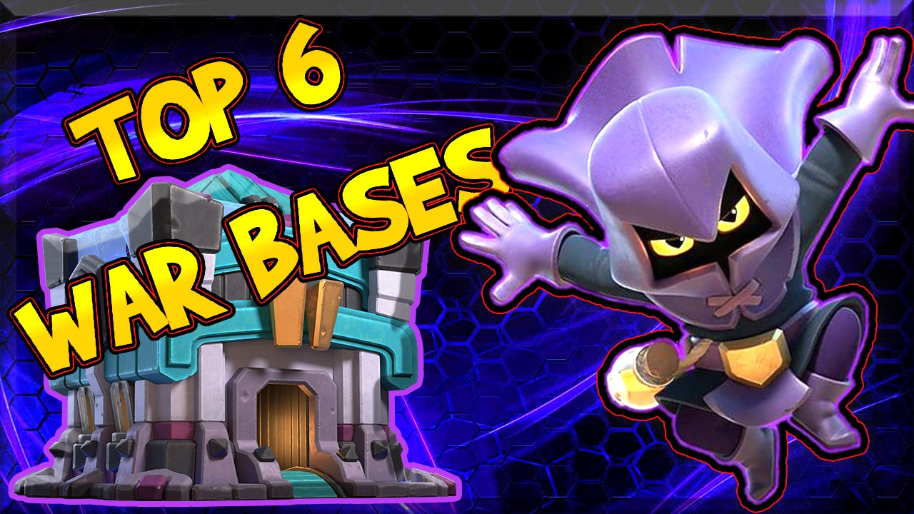 TOP 6 TH13 CWL WAR Base With Copy Link | Clash Of Clans