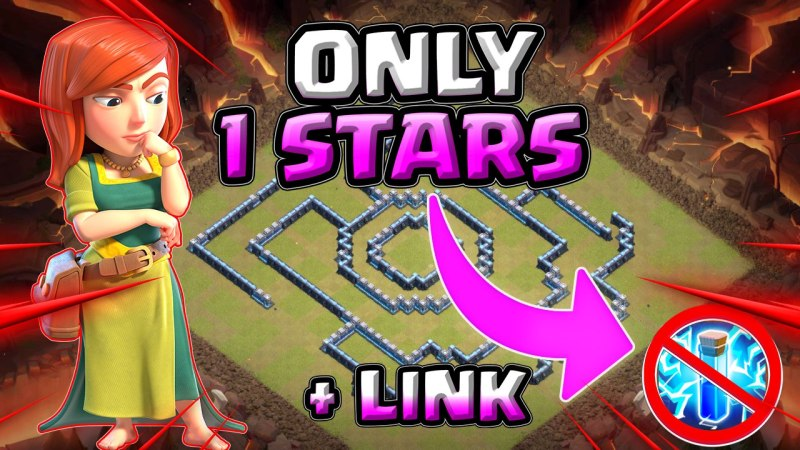 Only 1 Star | Best TH13 War Cwl Base (2020) + LINK (3 Star Impossible) / Clash Of Clans
