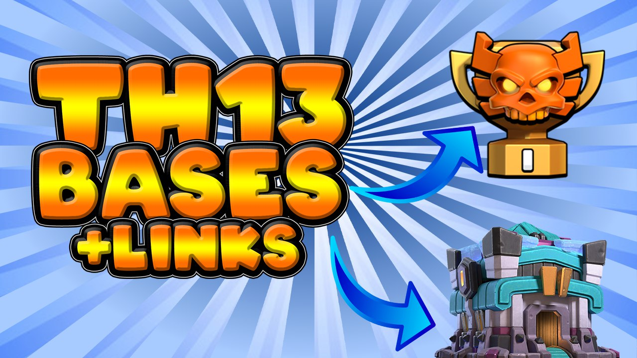 TOP 10 TH13 WAR BASES/CWL + LINKS 2020 July Best Town Hall 13 War Base Clash of Clans