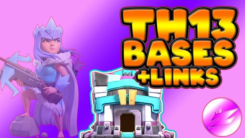 Top 10 War Cwl Base Th13 – Clash of Clans