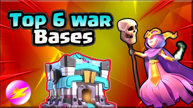 New 6 TH13 War Base Woth Copy Link – BEST Anti 3 Star TH13 Base Clash of Clans