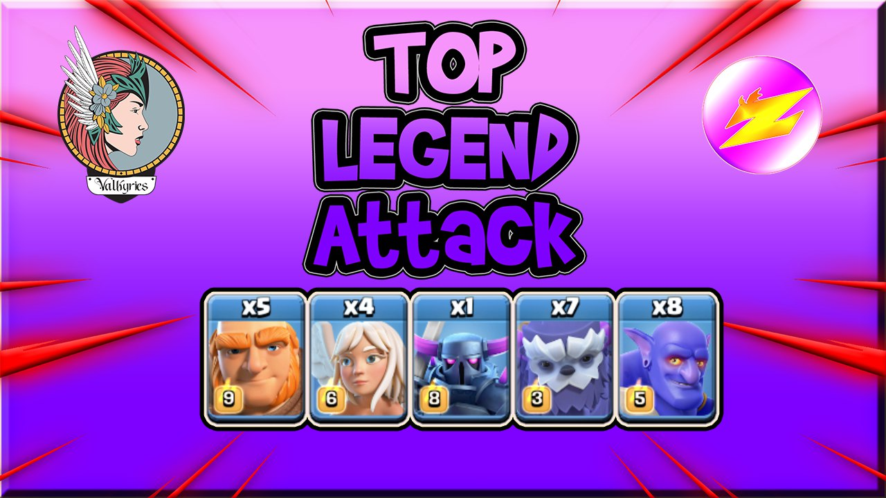 BEST Legend Th13 Attack Strategy