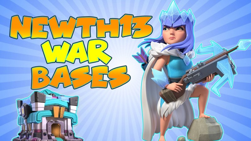 TOP NEW 10 TH13 WAR BASE + Link