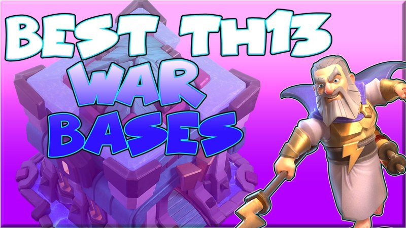 TOP 10 TH13 War Base With Copy Link – BEST Anti 3 Star TH13 BASE LINK