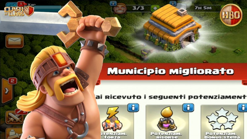 E TH6 sia… -E155- Clash of Clans ITA