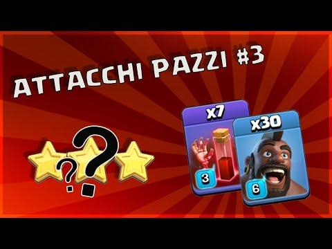 ATTACCHI PAZZI #3 TRE STELLE CON DOMATORI E SCHELETRINI!