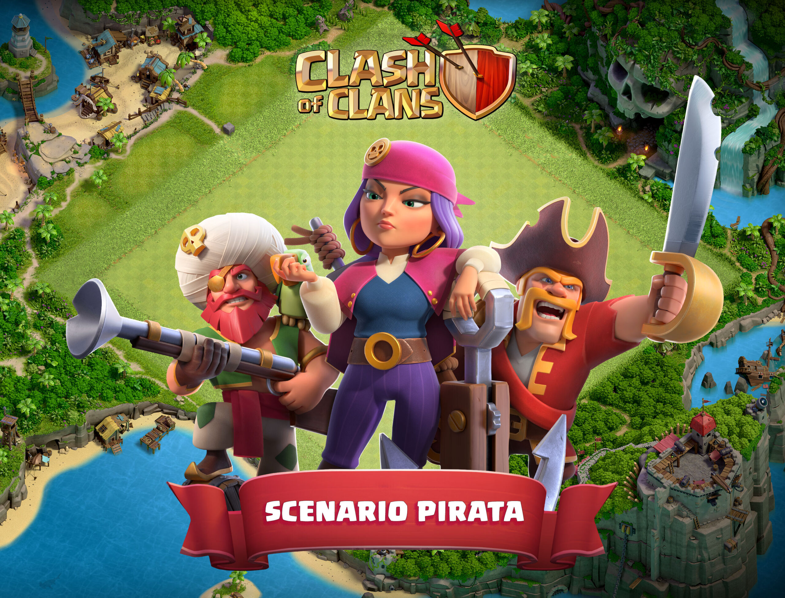 Completa il Set Pirata: ecco lo Scenario!