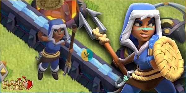 Skin di Dicembre su Clash of Clans: ecco la Campionessa d'Inverno!
