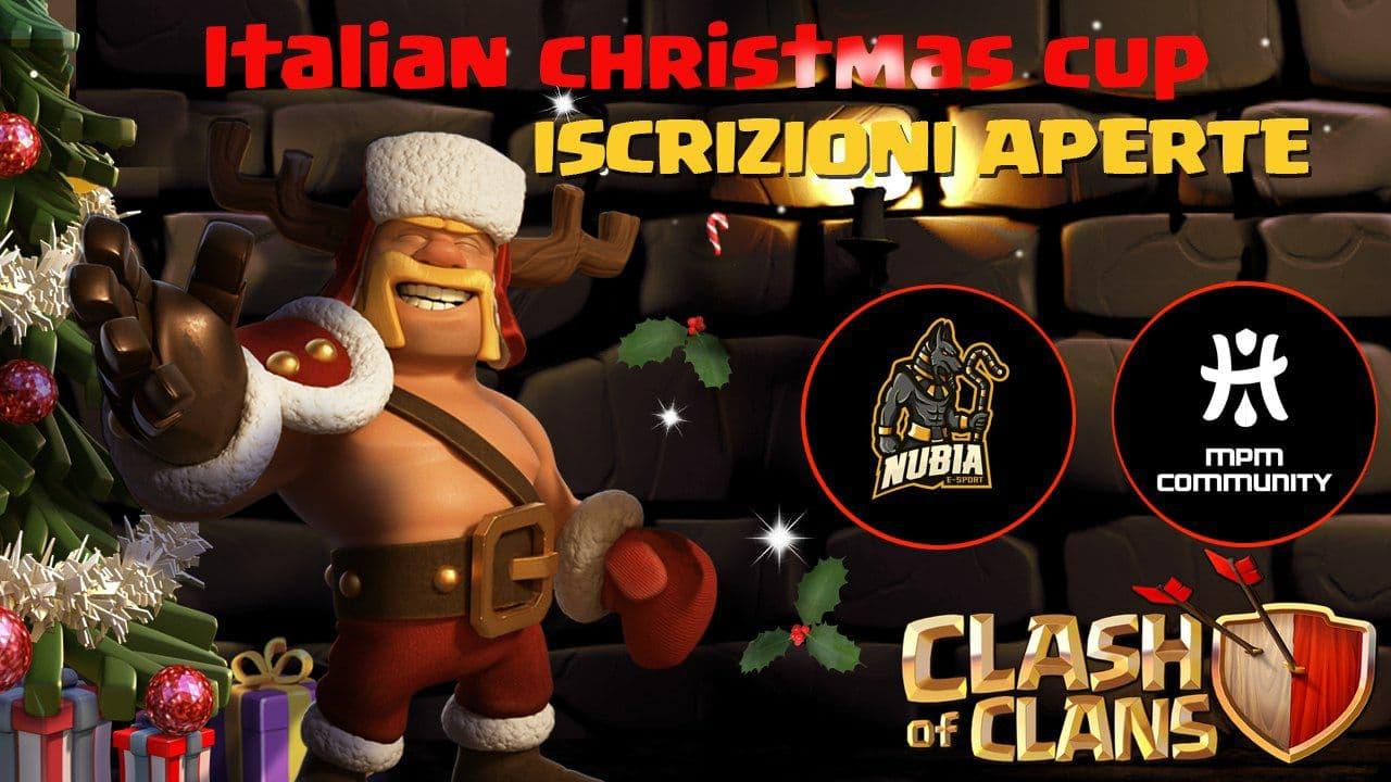 Italian Christmas Cup: ISCRIZIONI APERTE!