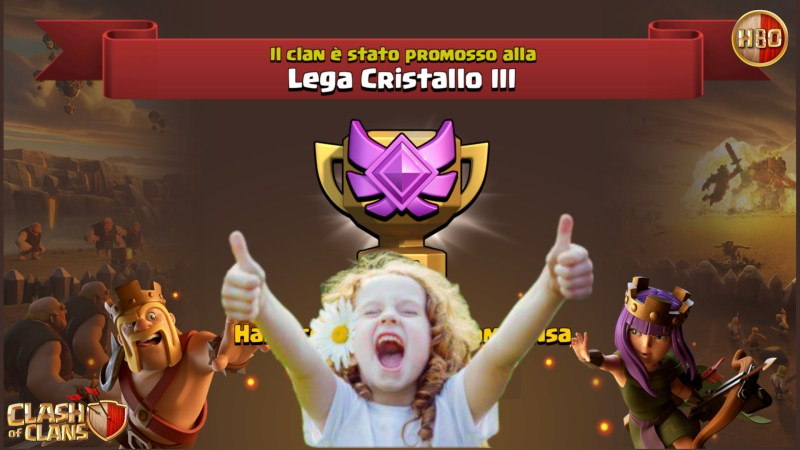 Bagai Promossi in Cristallo 3! -E172- Clash of Clans ITA