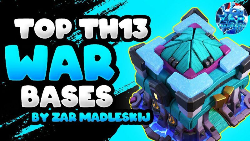 Global Top 1 Player BASES + Link (Th13) New Top 5 Th13 War Base Link 2021
