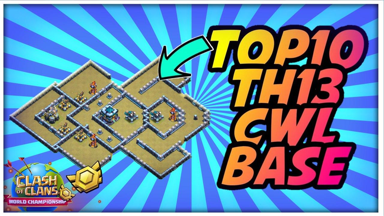 2021 New Top 10  Th13 War Base Link | ANTI 1/2 Star War Base Link Th13