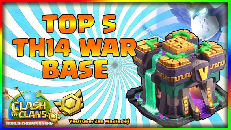 TOP 5 TOWN HALL 14 BASES WITH LINKS -BEST TH14 CWL WAR BASE|TH14 Trophy Base+Link |Base Layouts 2021