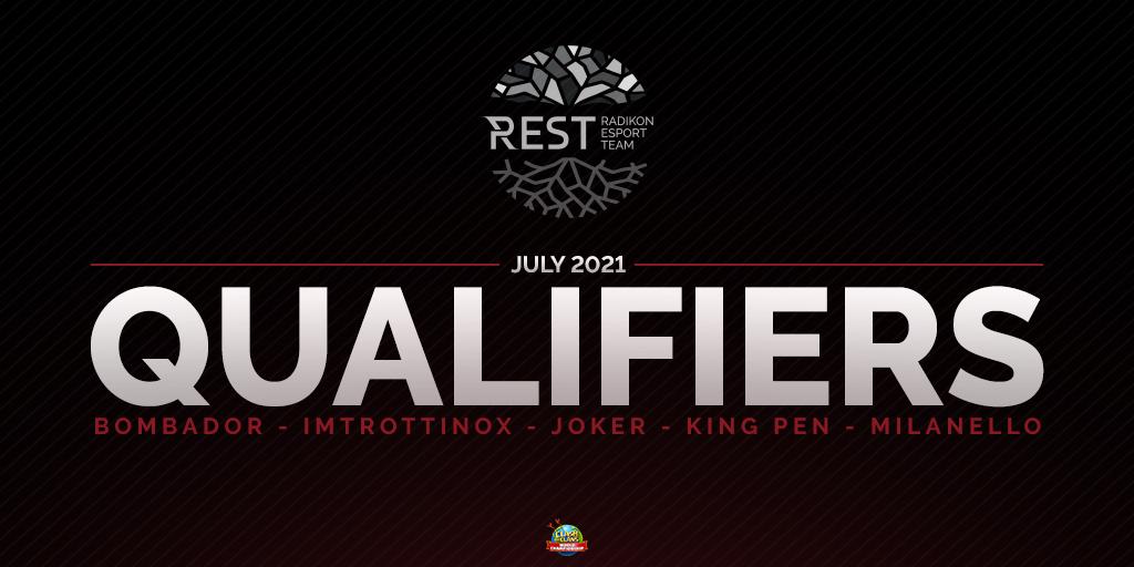 Il team italiano eSport REST stacca il pass per la Qualifica di Luglio | World Championship