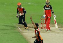 RCB vs SRH Virat Kohli And Sandeep Sharma