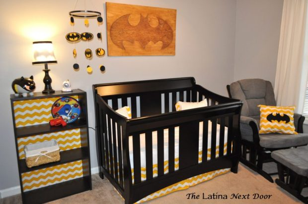 Nephews Batman Nursery 1024x680 Nephews Nursery Reveal