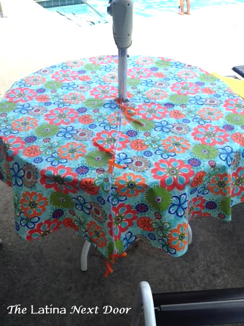 Tablecloth 14 Custom Tablecloth for the Pool