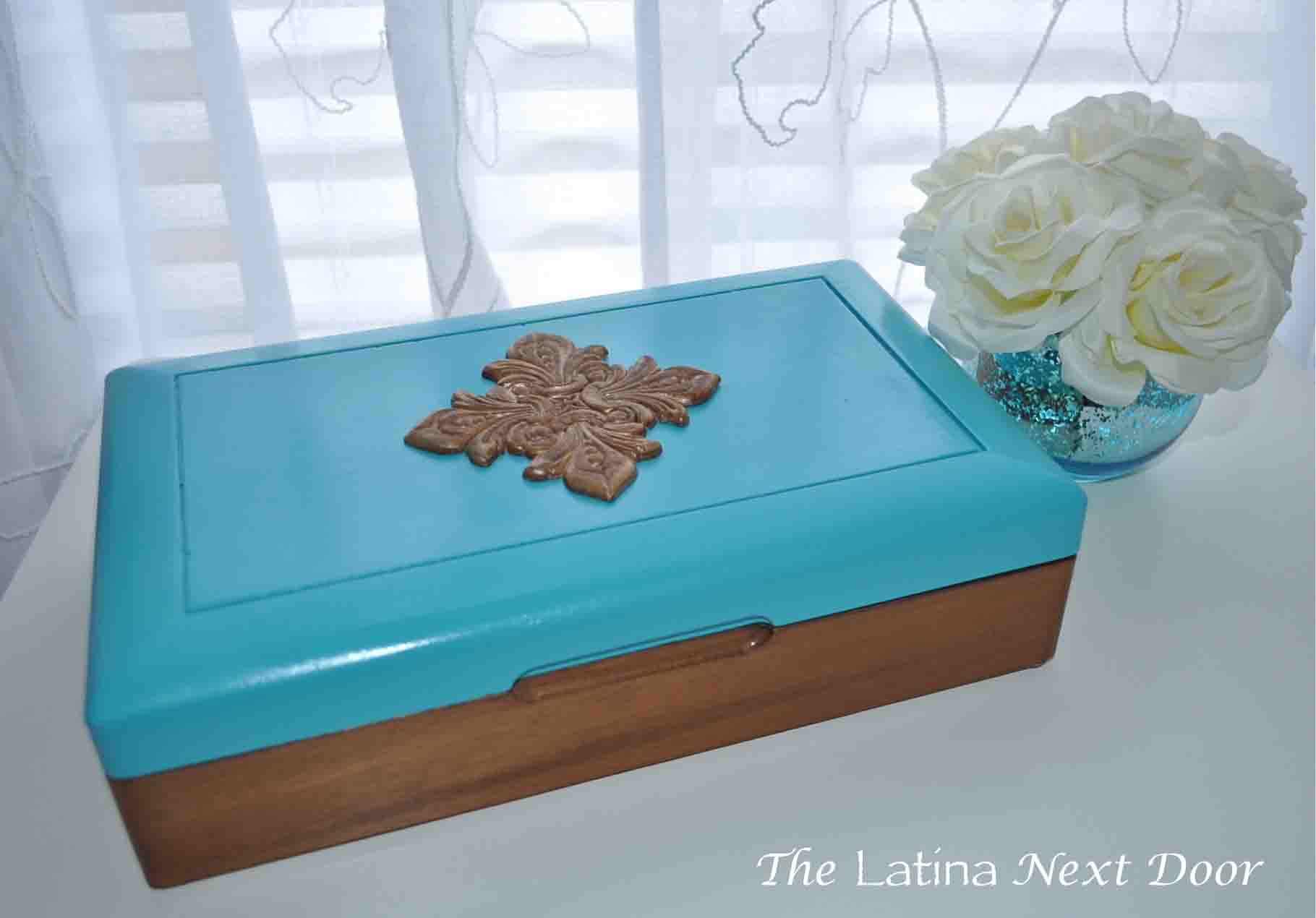 DIY Jewelry Box Makeover 12 Goodwill Jewelry Box Makeover for Under $6