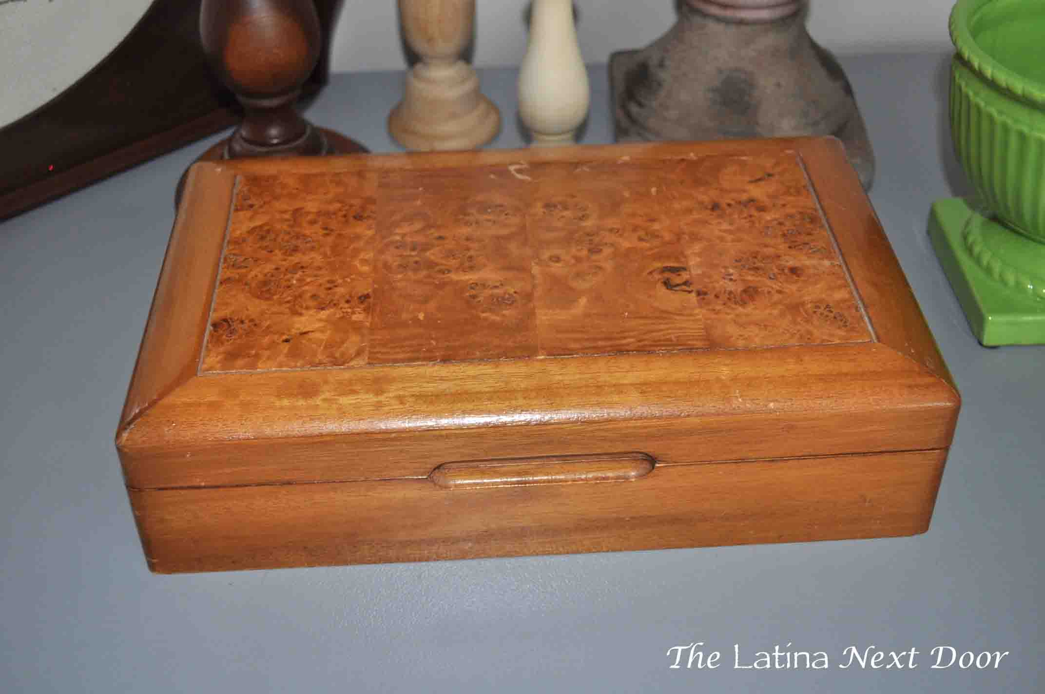 DIY Jewelry Box Makeover Goodwill Jewelry Box Makeover for Under $6