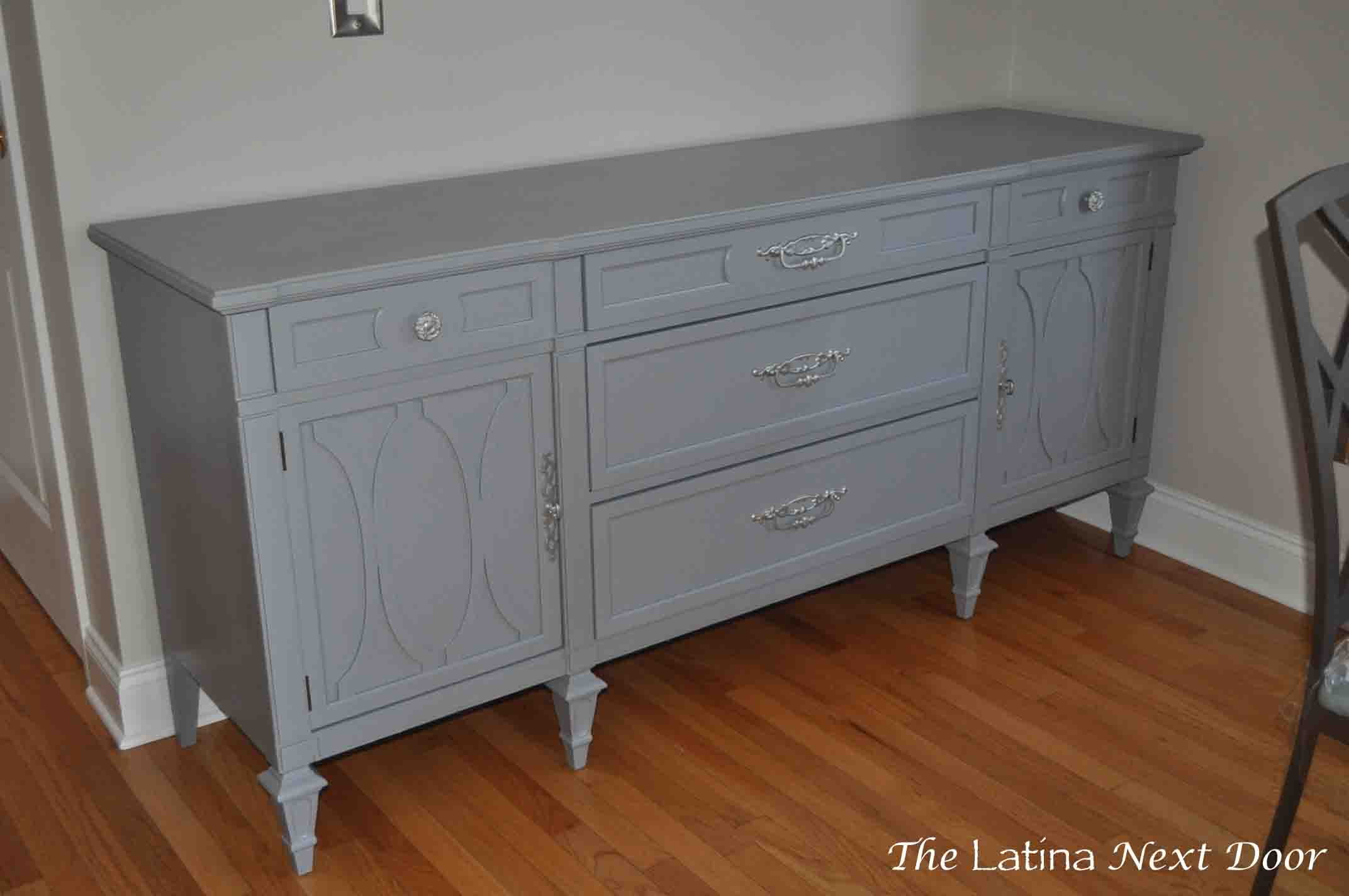 Dresser Turned Buffet 11 Dresser Turned Buffet