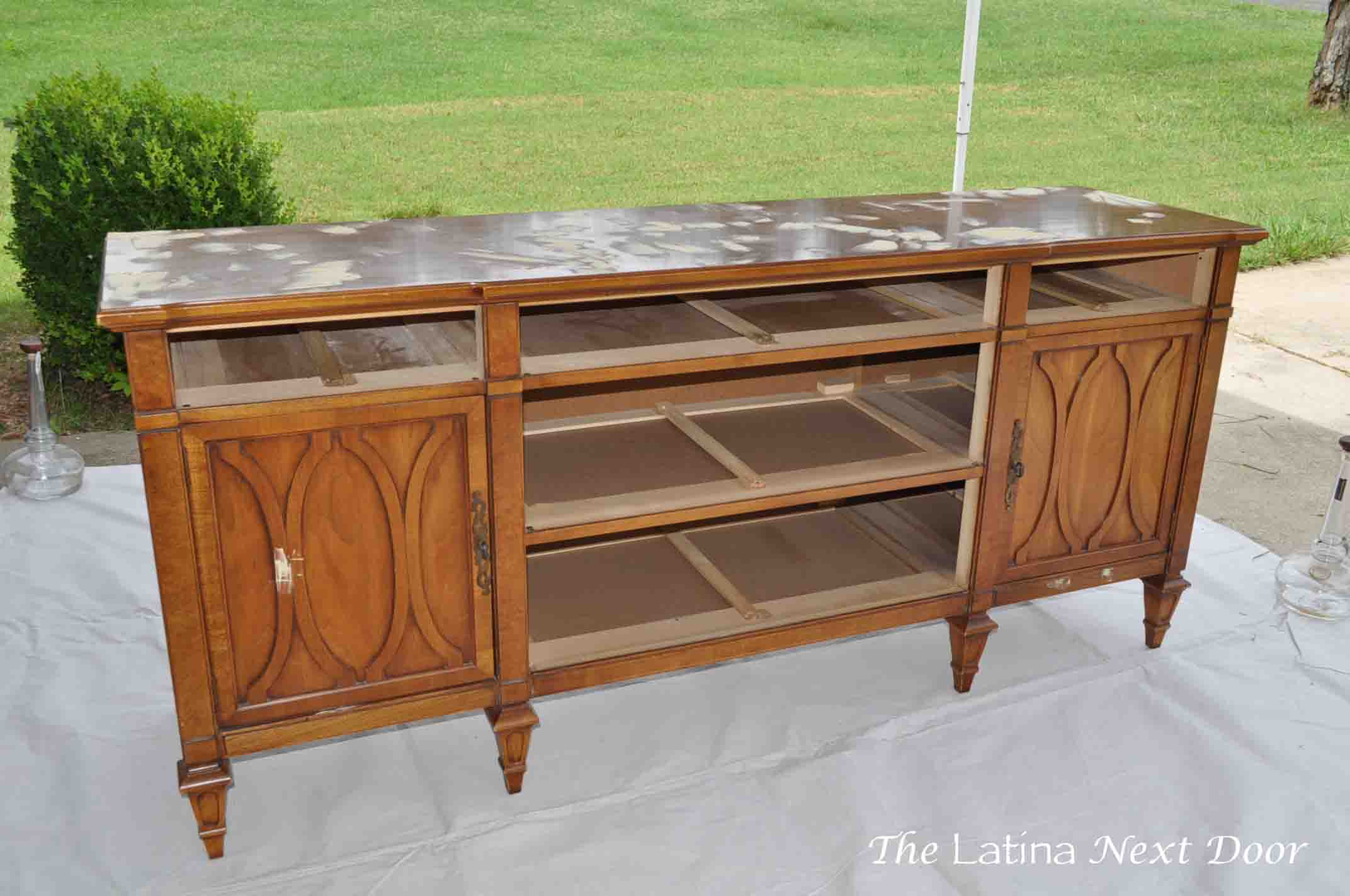 Dresser Turned Buffet 2 Dresser Turned Buffet