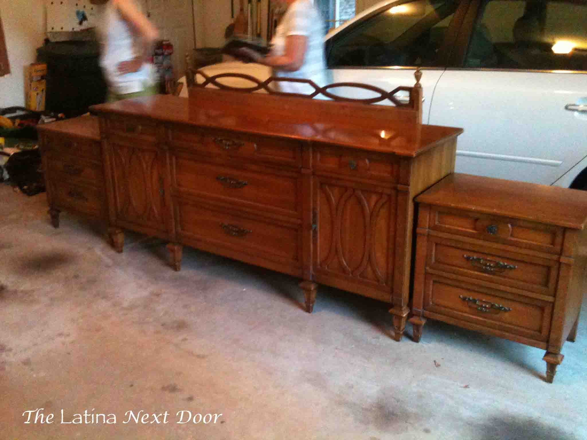 Dresser Turned Buffet Dresser Turned Buffet
