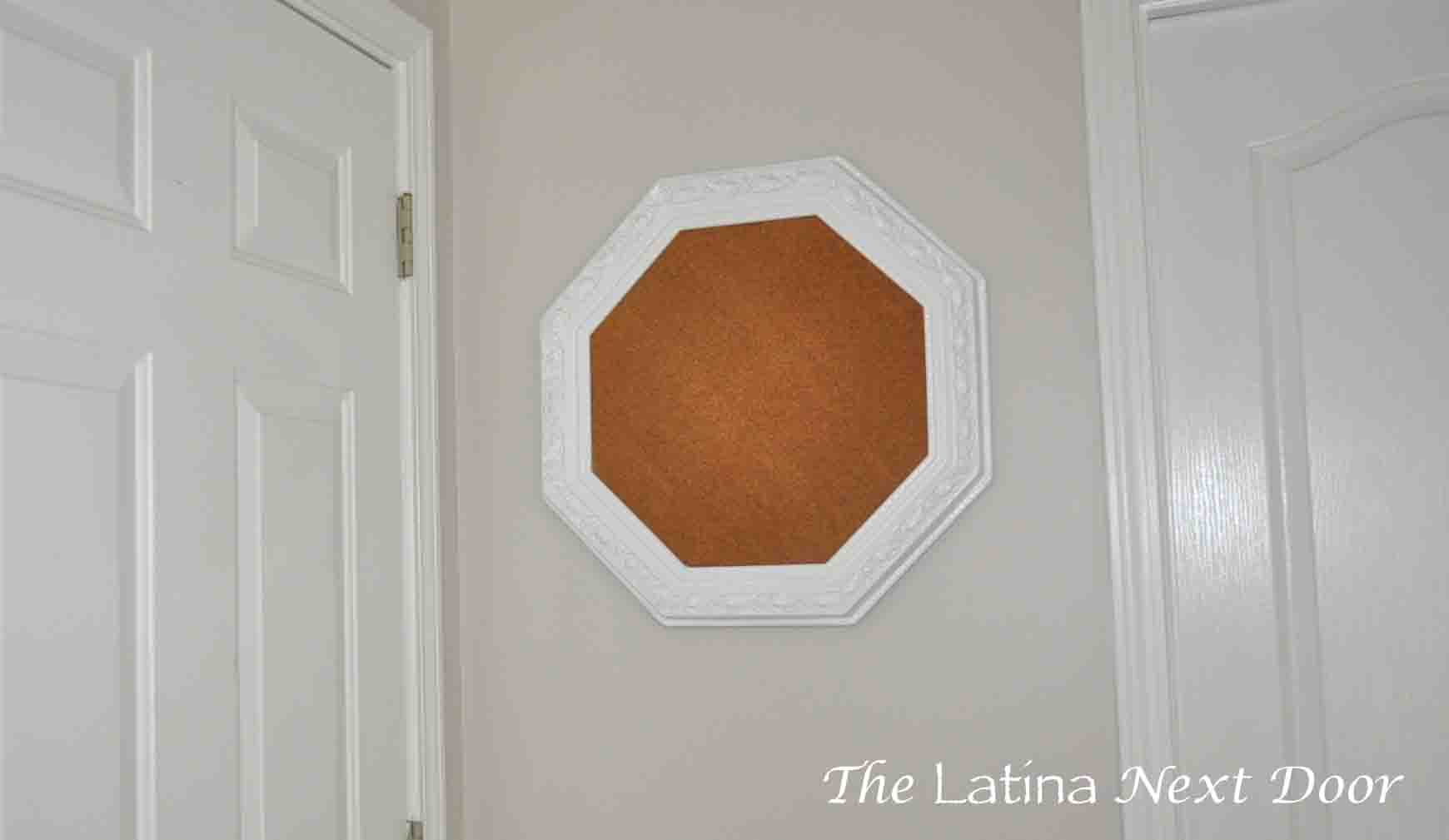 Mirror to Corkboard 5 From Wedding Mirror to Corkboard