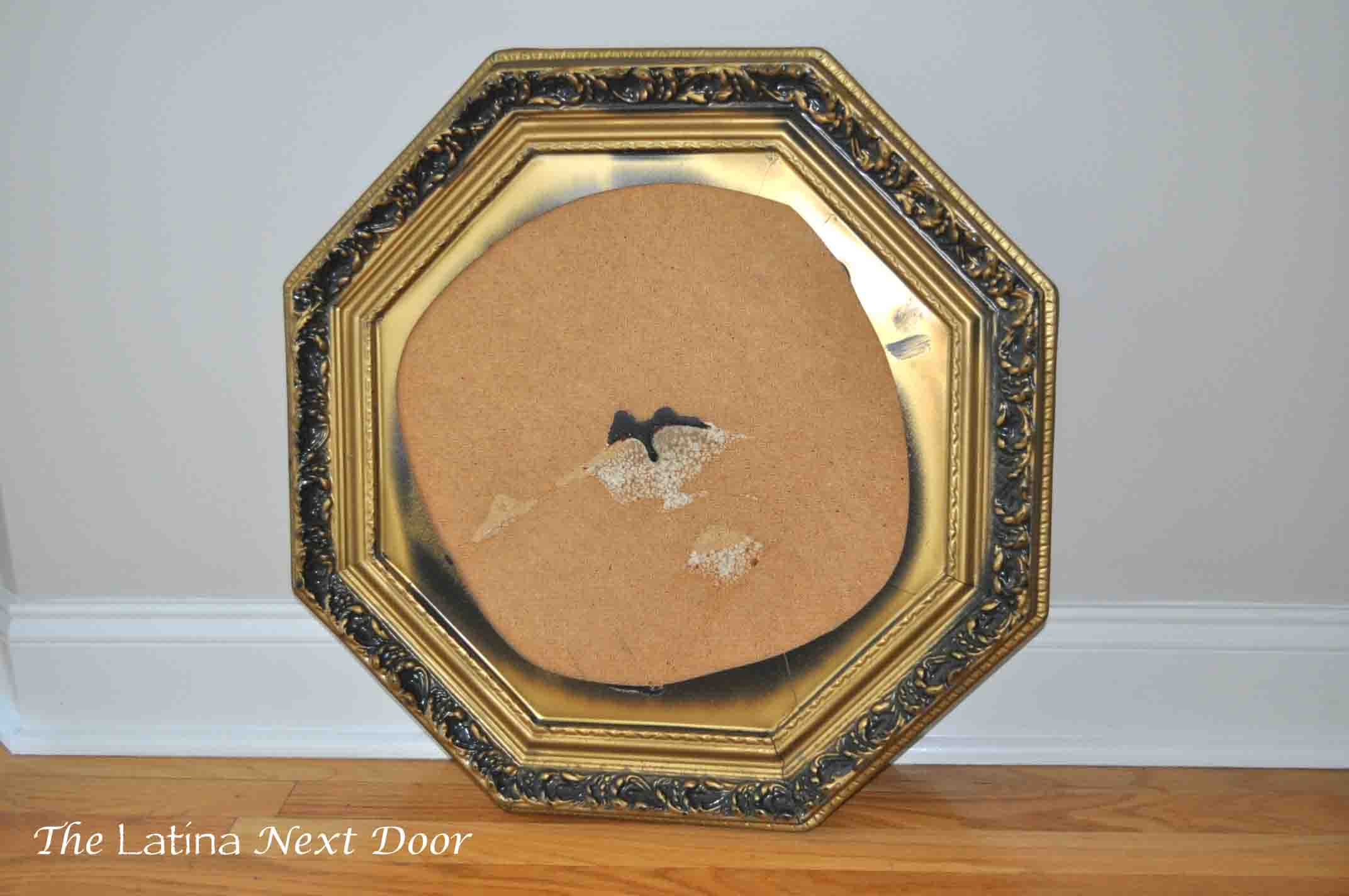 Mirror to Corkboard From Wedding Mirror to Corkboard