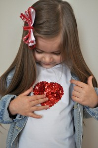 %name DIY Sequin Heart Tee Collage 1
