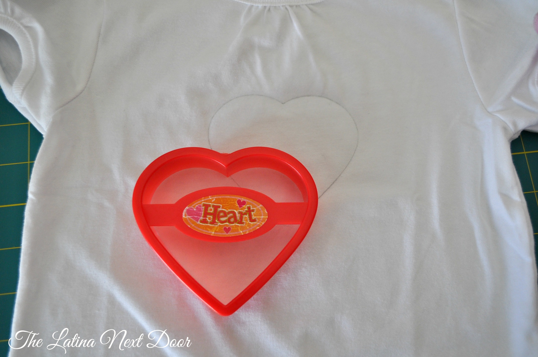DIY Sequin Heart Tee Tutorial 2 DIY Sequin Heart T shirt Tutorial for Valentines Day
