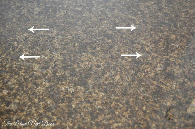 Finished Granite with Arrows 1024x680 How to Repair Granite   The Inexpensive Way
