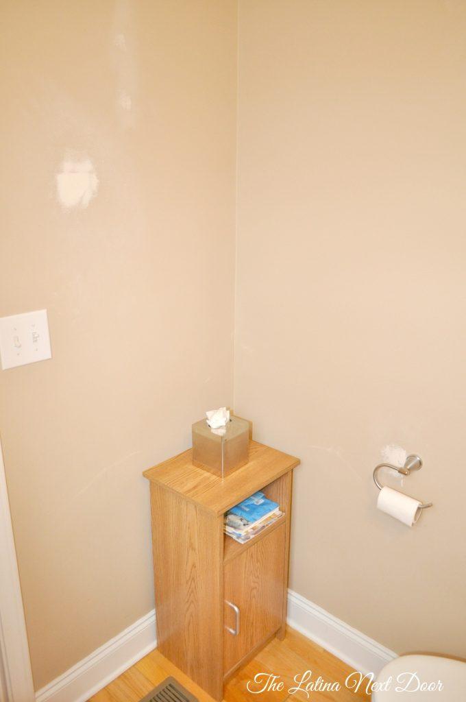 Powder Bath BEFORE 2 680x1024 Powder Bathroom Remodel