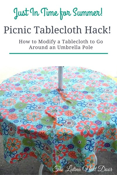 Tablecloth hack