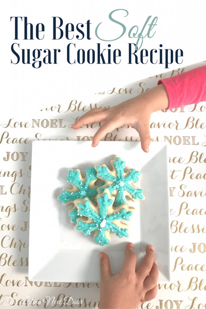 soft sugar cookie recipe 683x1024 The Best Soft Sugar Cookie Recipe