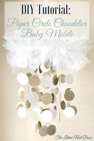 DIY Chandelier Baby Mobile