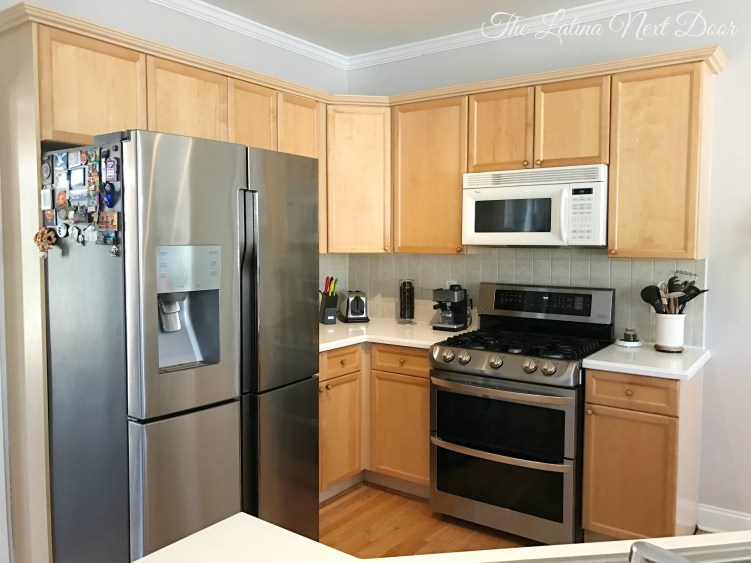 SW Painted Kitchen Before 1 How To Paint Kitchen Cabinets